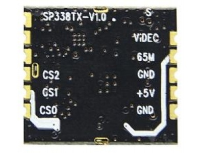 SP338TX-5.8GHz AV TX Specification